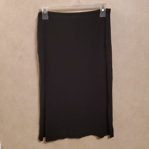 Gap size small black skirt with elastic waist